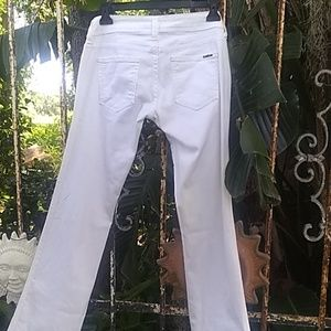 Baby baby white bootcut jeans size 25 waist